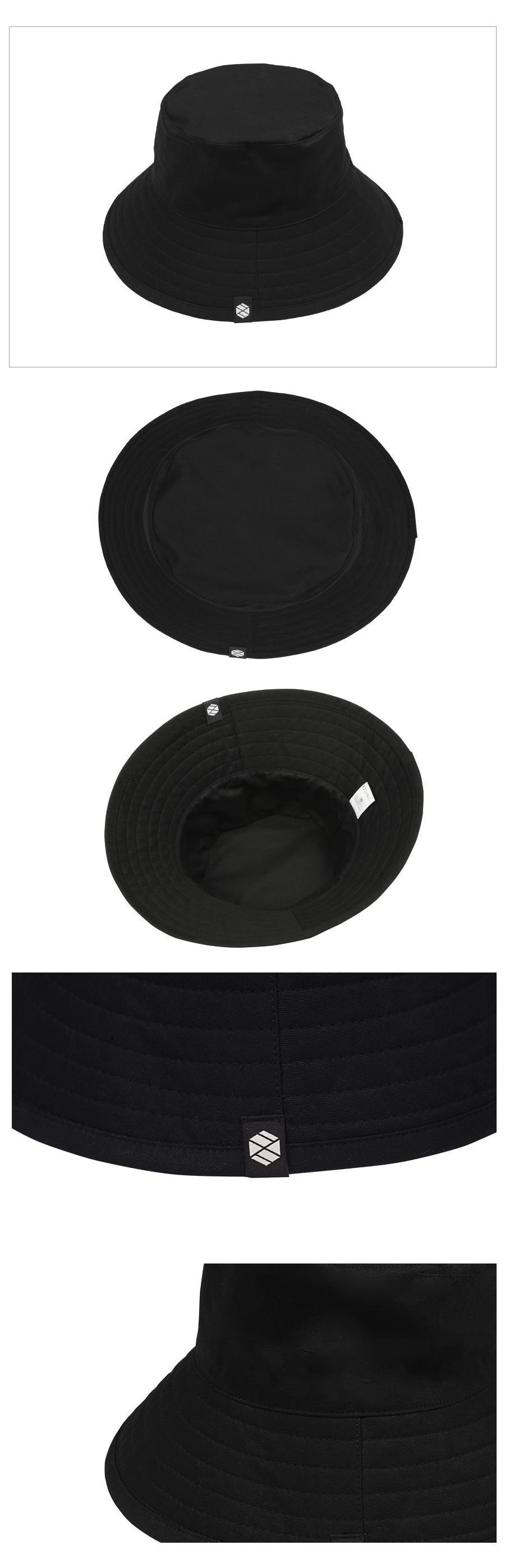 XTC010 빅 와이드 버캣햇 (BLACK)