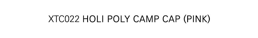 XTC022 홀리폴리 캠프 캡 (PINK)