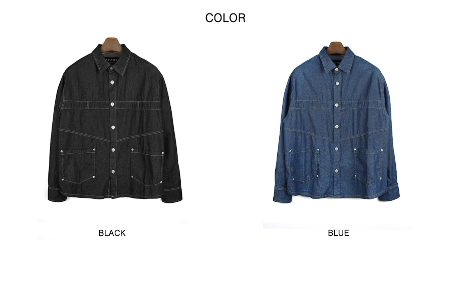 XJ30 오키드 청해지 셔츠 (BLUE)